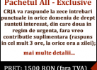Pachetul All-Exclusive 1500 RON